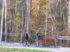 JFT riders enjoying fall colors