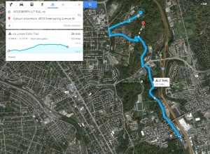 Jones Falls Trail from the Woodberry Lightrail Station to Cylburn Arboretum (part 3)
