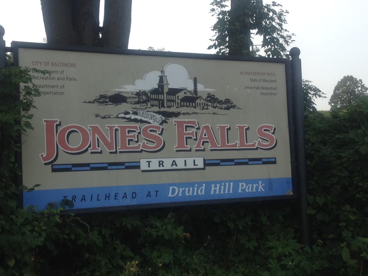 Marc Jones Falls Trail